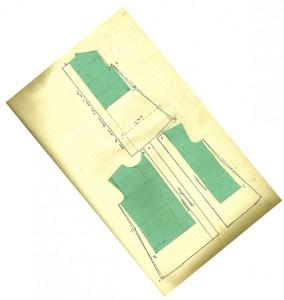 Page d'un cahier de couture