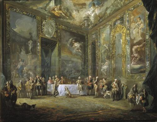 Comida pública de Carlos III, A. R. Mengs