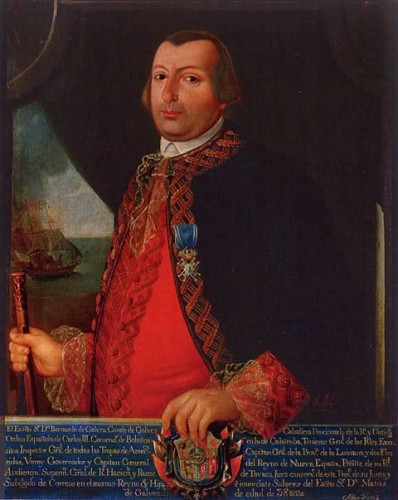 Don Bernardo de Gálvez, I conde de Gálvez