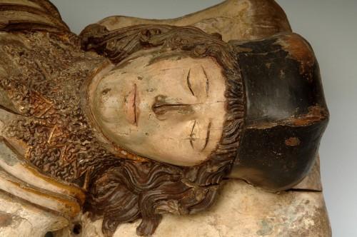 Retrato funerario del I marqués de Villafranca del Bierzo, Luis Pimentel y Pacheco (cir 1497)