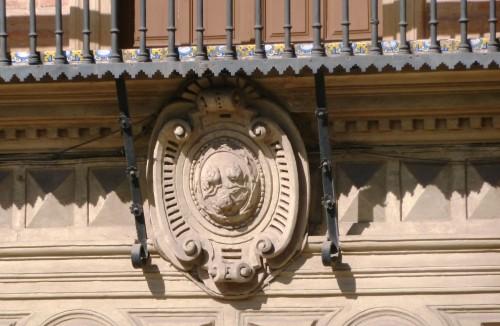 Armas de los Tenza en el palacio de los marqueses de Espinardo