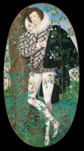 Young man among roses, de Nicholas Hilliard