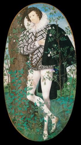 Young man among roses, de Nicholas Hilliard