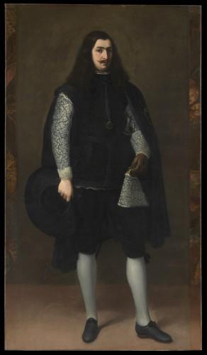Retrato de un caballero, de Bartolomé Esteban Murillo. Museo Metropolitano de Nueva York
