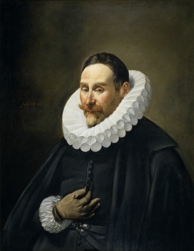 Retrato de un caballero. Fray Juan Bautista Maino, cir 1620. Museo del Prado, Madrid.