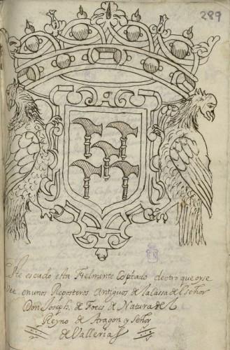 Armas de los Foces (BNE, Mss/6173)