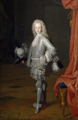 El futuro Luis I, aún Príncipe de Asturias, por Jean Ranc