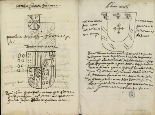 Los condes de Cocentaina y los de Aytona (después marqueses). Armas de los Alarcón