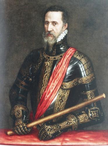 El gran duque, por Tiziano (1570)
