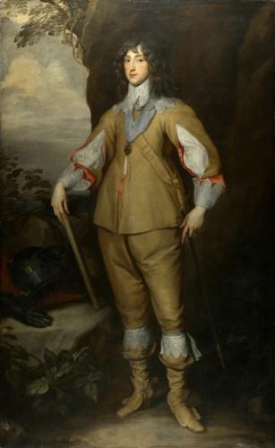 Estudio de Anthony van Dyck: príncipe Charles Louis, conde Palatino