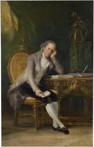 Gaspar Melchor de Jovellanos, por Francisco de Goya (Museo del Prado)