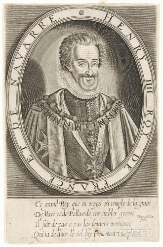 Enrique IV de Borbón, con el collar de la orden