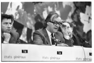Etats Généraux de la Culture créés par Jack Ralite, 17/06/1987 photo Pierre Trovel / Mémoires d'Humanité - Archives départementales de la Seine-Saint-Denis