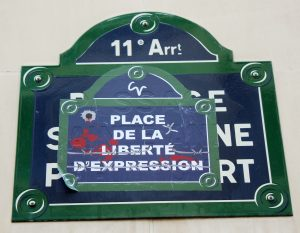 Place de la Liberté d'Expression - © Anne-Christelle, 02/02/2015 via FlickR