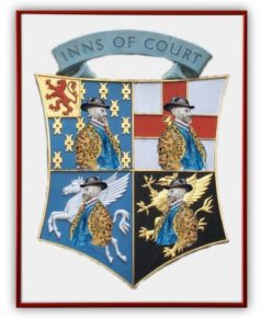 Weber and the four inns of court, 2016