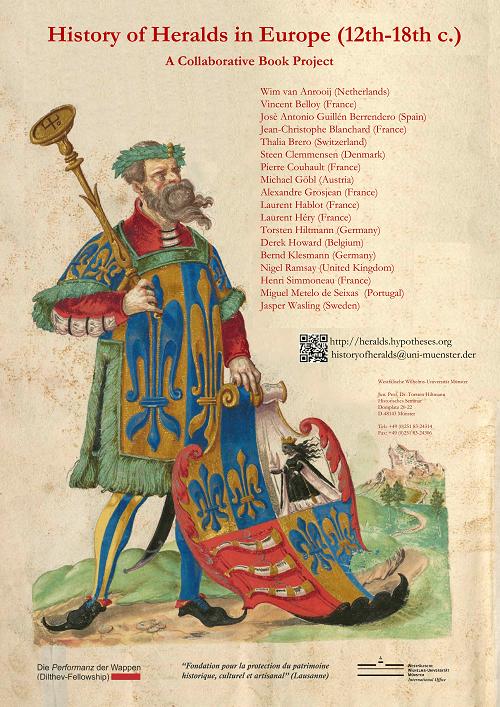 'History of Heralds'- Book Projekt Poster