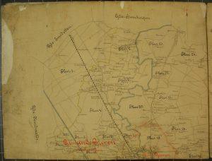 Stadtarchiv Greven, Karten Pläne Nr. 1 (Ausschnitt)