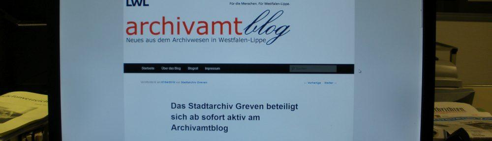 5 Jahre siwiarchiv – Beitrag des Stadtarchivs Greven zur Blogparade