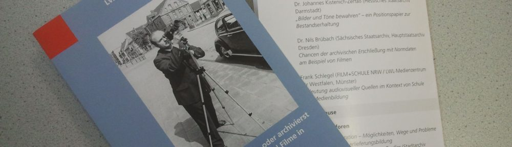 Herausforderungen im Umgang mit Fotos und Filmen im Archiv #WAT17
