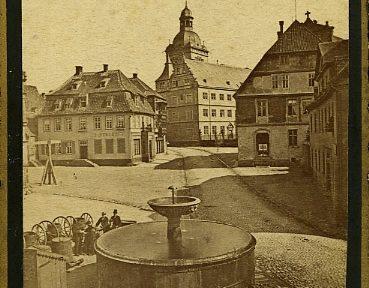 Paderborner Fotografien des Münsteraner Fotografen Friedrich Hundt
