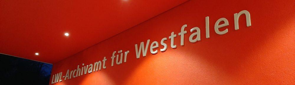 Benutzung während des Westfälischen Archivtages 2020