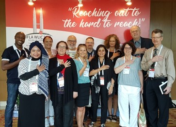 Die IFLA Sektion Audiovisuelles uNd Multimedia auf dem World Library and Information Congress WLIC2018 in Kuala Lumpur