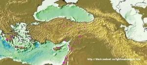 Carte pour 3000-4000 BP