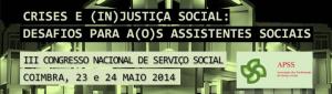III Congresso Nacional de Serviço Social - APSS - Coimbra