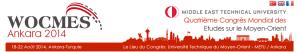 WOCMES 2014 -- Quatrième Congrès Mondial des Etudes sur le Moyen-Orient