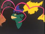 Planche extraite du livre d'art. Lycée Charles Péguy (classe de BTS Tourisme)