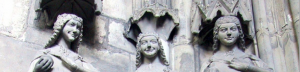 vierge folle, cathédrale de Magdebourg