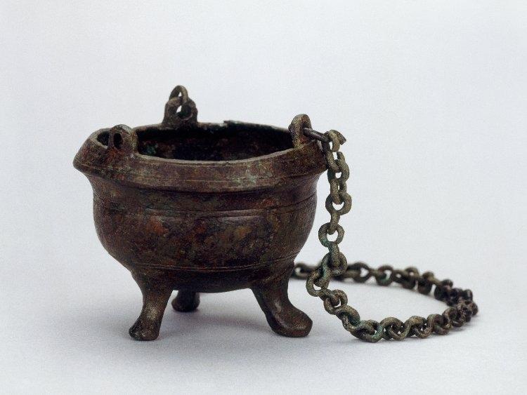 encensoir du VIe-VIIe siècle trouvé en Angleterre