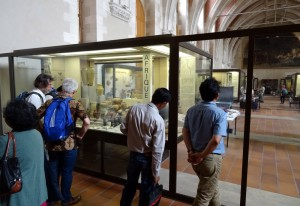EurASEAA 2015. Deleguates visiting the Musée d'archéologie nationale, Saint-Grmain-en-Laye