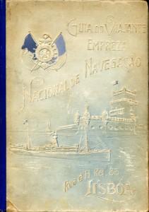 Figura 3 - Empreza Nacional de Navegação. (1907). Guia do Viajante em Portugal e nas suas colónias em África. Lisboa: Cristóvão Augusto Rodrigues. Coleção Biblioteca