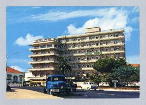 Postal ilustrado Hotel Paris Estoril