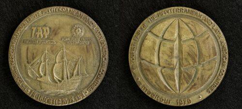 Medalha Meditour TAP MUVITUR Museu Virtual do Turismo