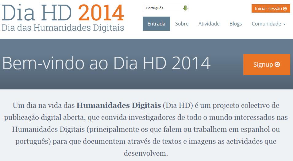 Dia Humanidades Digitais 2014