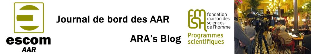 Le carnet des AAR / ARA's Blog