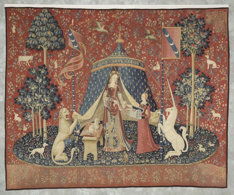 Dame à la licorne : A mon seul désir (Cl. 10834) - Musée du Moyen Âge