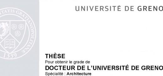 Soutenance de thèse