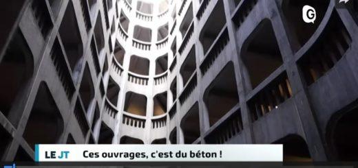 Reportage de Télégrenoble sur les 200 ans de béton