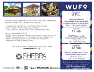 Sherpa au WUF9