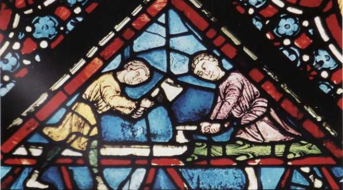 L'approvisionnement en bois sur le château de Guédelon (Yonne)