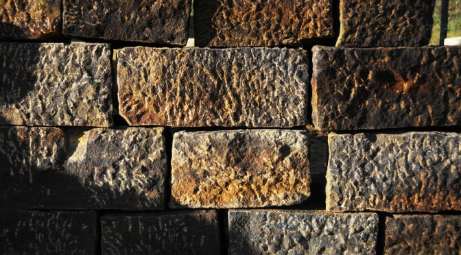 L'économie du chantier de construction : la pierre