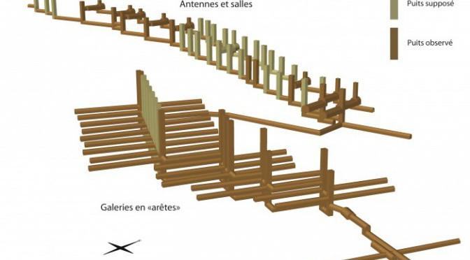 Les arêtes de poisson : éléments de discussion sur la construction d'un ouvrage antique atypique