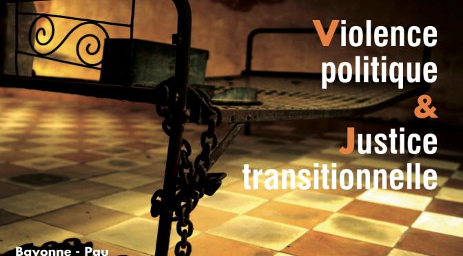 Cycle de conférences Violence politique & Justice transitionnelle