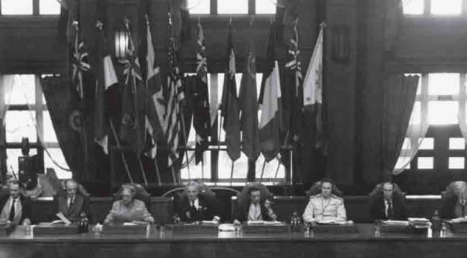 Colloque pour le 70e anniversaire du procès de Tokyo
