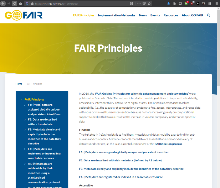 Bild 6.1: FAIR-Prinzipien