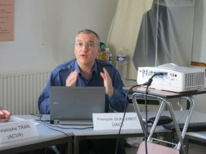 """François Guillemot : """"La démocratisation est la question centrale soulevée par la dissidence"""" © IAO 2014"""