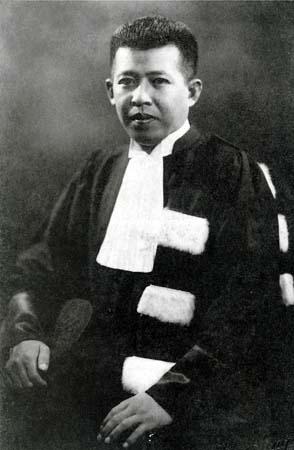 Pridi Panomyong, homme d'Etat thaïlandais (1900-1983)